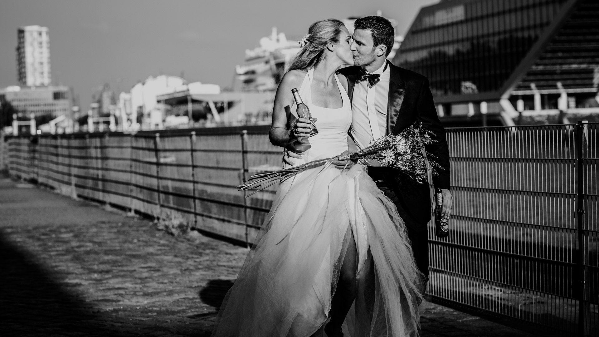 """Hochzeit in """"Der Blaue Hummer"""" am Fischmarkt"""
