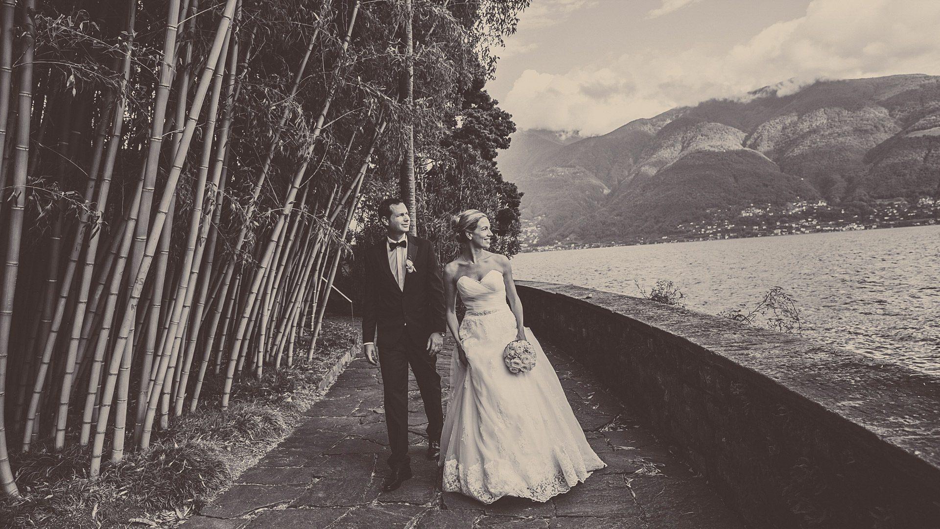 Hochzeit auf Brissago Inseln